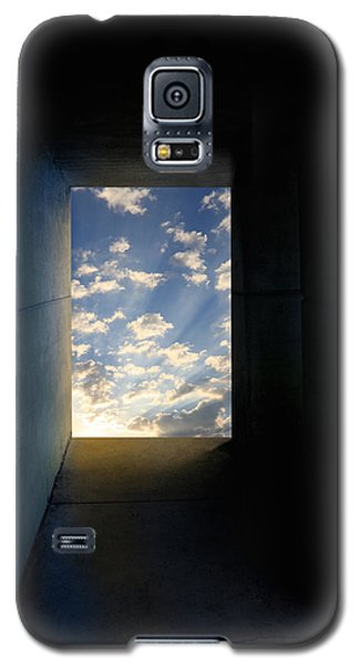 Tunnel With Light Galaxy S5 Case by Melinda Fawver