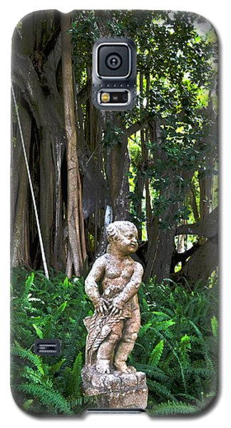 Galaxy S5 Case featuring the photograph Twilight In The Garden by Timothy Lowry