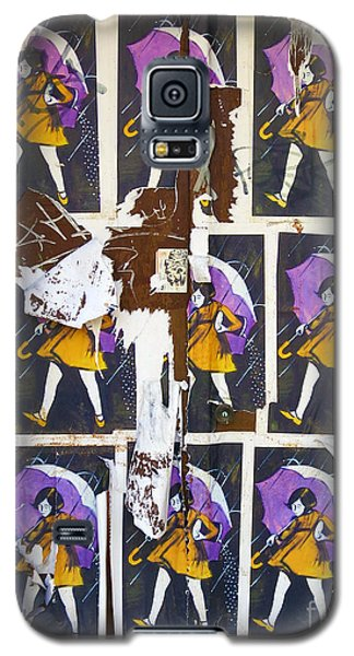 Umbrella Girl Galaxy S5 Case