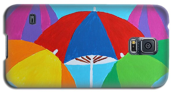 Umbrellas Galaxy S5 Case
