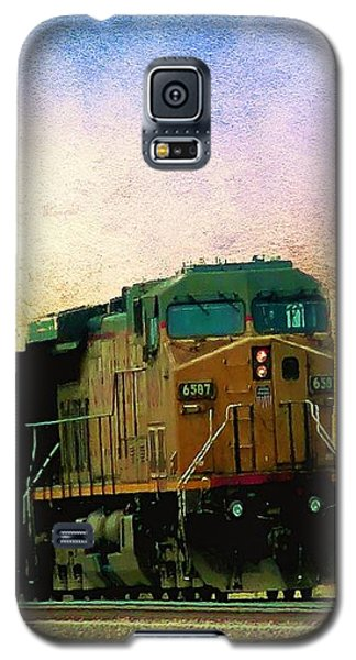 Union Pacific Coal Train Galaxy S5 Case by Janette Boyd