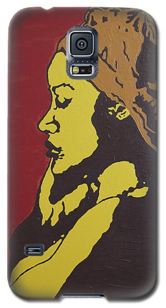 Galaxy S5 Case featuring the painting Untitled by Rachel Natalie Rawlins