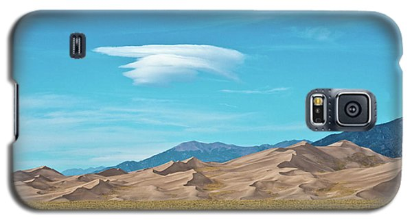 Sangre De Cristo Galaxy S5 Case - Usa, Colorado, Alamosa, Great Sand by Bernard Friel