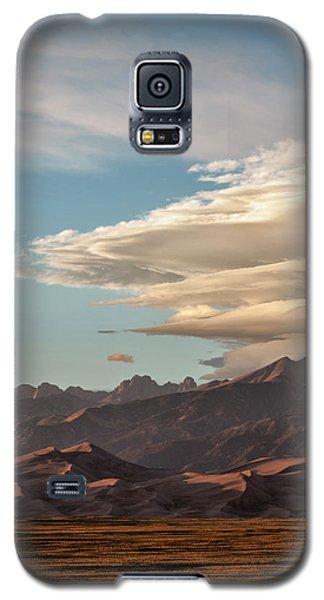 Sangre De Cristo Galaxy S5 Case - Usa, Colorado, Great Sand Dunes by Ann Collins