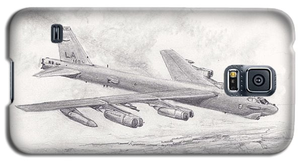 Usaf B-52 Stratofortress  Galaxy S5 Case by Jim Hubbard