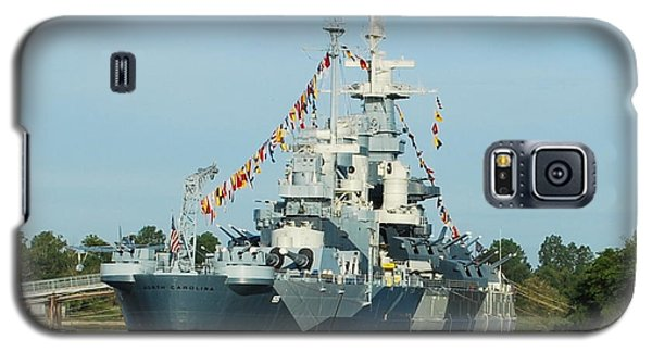 Uss North Carolina Battleship Galaxy S5 Case by Bob Sample
