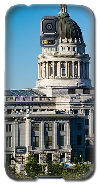 Utah State Capitol Building, Salt Lake Galaxy S5 Case by Panoramic Images