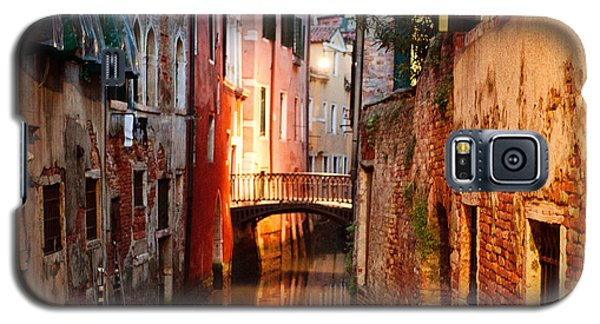 Galaxy S5 Case featuring the photograph Venice Italy Canal by Kim Fearheiley
