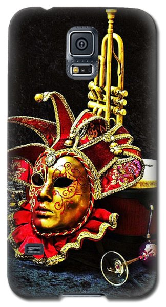Galaxy S5 Case featuring the photograph Venitian Joker 2 by Elf Evans