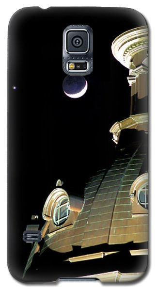 Venus And Crescent Moon-1 Galaxy S5 Case