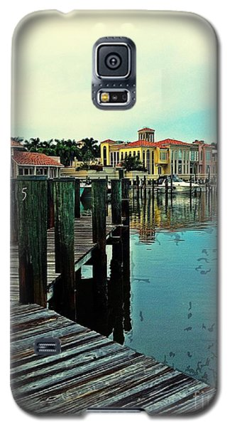 View From The Boardwalk  Galaxy S5 Case