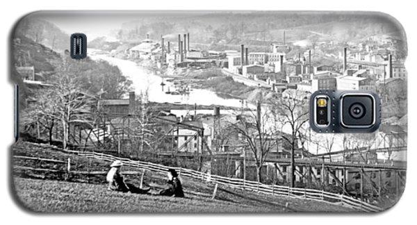 View Of Conshohocken Pennsylvania C 1900 Galaxy S5 Case