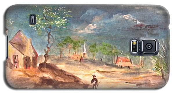 View Of The Countryside Galaxy S5 Case by Egidio Graziani