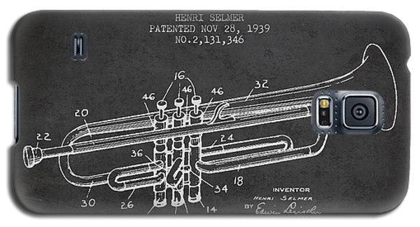 Trumpet Galaxy S5 Case - Vinatge Trumpet Patent From 1939 by Aged Pixel