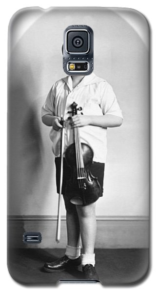 Violin Galaxy S5 Case - Violinist Yehudi Menuhin by Underwood Archives