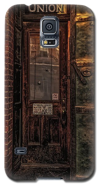 Galaxy S5 Case featuring the photograph Virginia City Brewery by Nancy Marie Ricketts