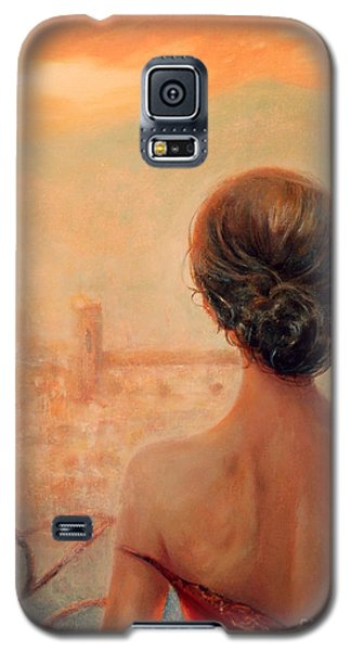Visions Of Florence Galaxy S5 Case by Michael Rock