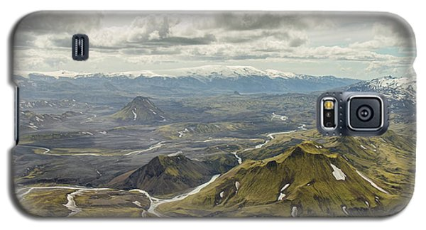 Volcano Valley In Iceland Galaxy S5 Case