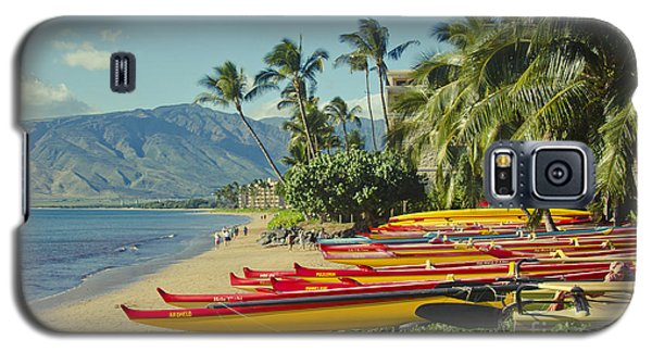 Kenolio Beach Sugar Beach Kihei Maui Hawaii  Galaxy S5 Case