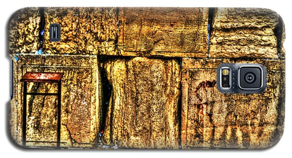 Galaxy S5 Case featuring the photograph Wailing Wall by Doc Braham
