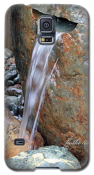 Water And Rocks II Galaxy S5 Case