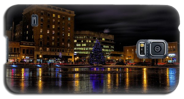 Wausau After Dark At Christmas Galaxy S5 Case
