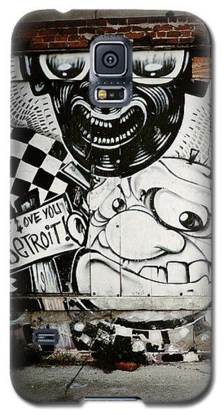 We Love You Detroit Galaxy S5 Case