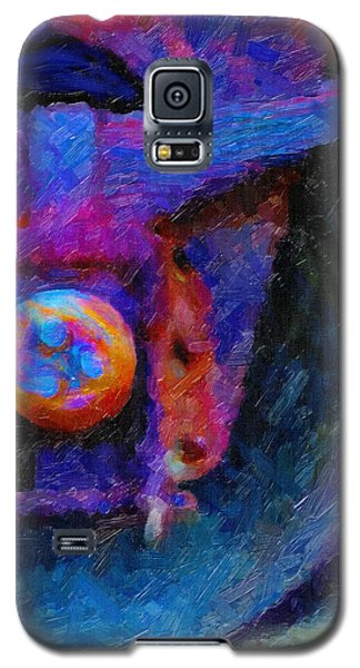 Galaxy S5 Case featuring the digital art Weathered by Chuck Mountain