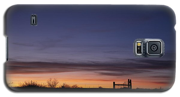 West Texas Sunset Galaxy S5 Case by Melany Sarafis