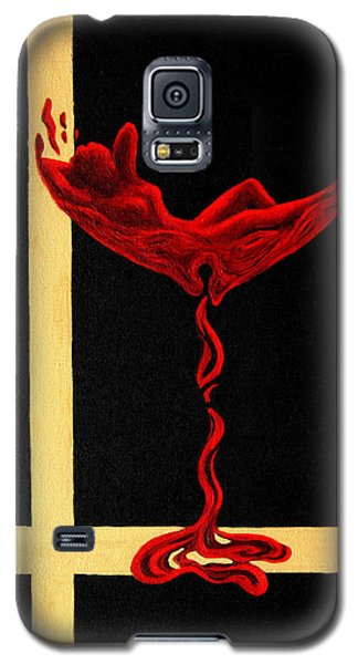 Wine Dream Galaxy S5 Case by Sandi Whetzel