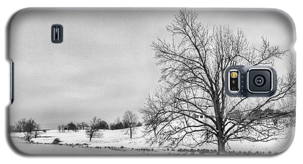 Galaxy S5 Case featuring the photograph Winter In Kentucky by Wendell Thompson