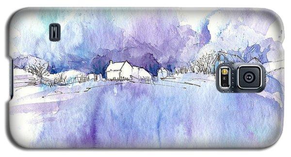 Winter White Galaxy S5 Case