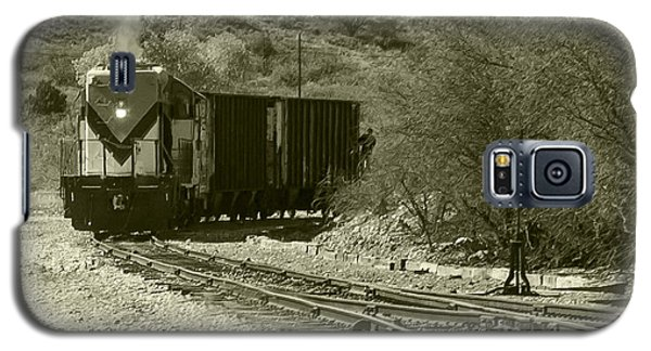 Work Train In Clarkdale Arizona Galaxy S5 Case