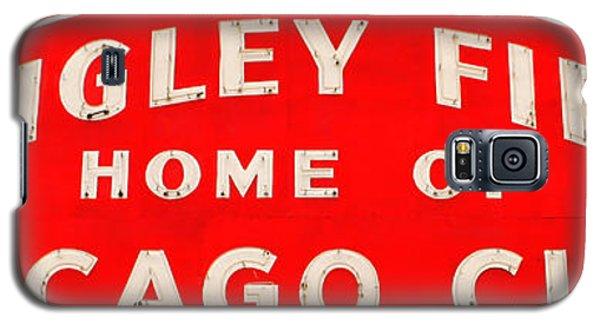 Wrigley Field Sign Galaxy S5 Case by Lynne Jenkins