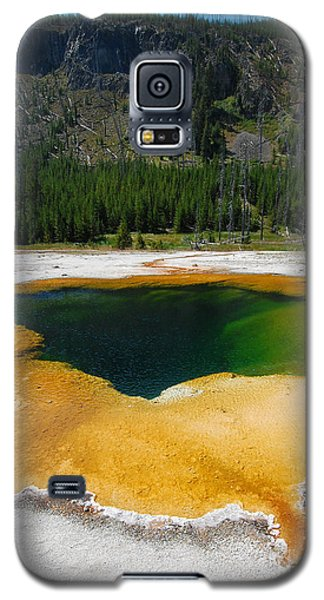 Yellowstone Emerald Pool Galaxy S5 Case