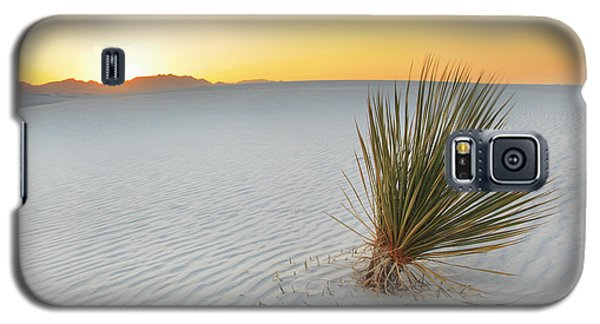 Yucca Plant At White Sands Galaxy S5 Case