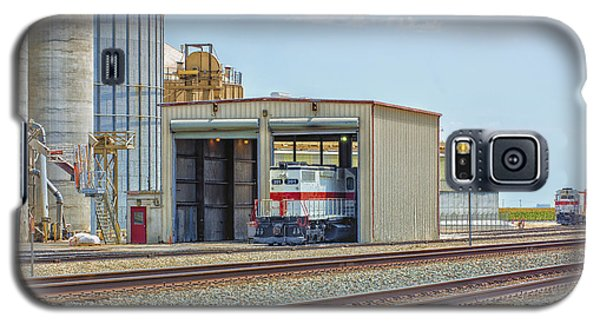Foster Farms Locomotives Galaxy S5 Case by Jim Thompson