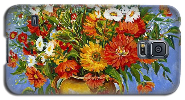 Zinnias Galaxy S5 Case