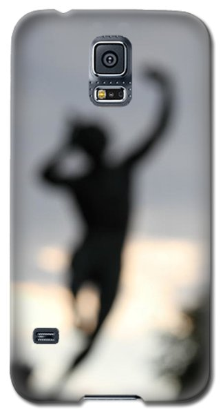 Galaxy S5 Case featuring the digital art Out Of His Grief, Delight And Rage. by Danica Radman