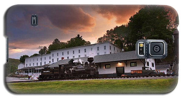 Cass Scenic Railroad Galaxy S5 Case