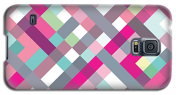 Galaxy S5 Case featuring the digital art Geometric Art by Mike Taylor