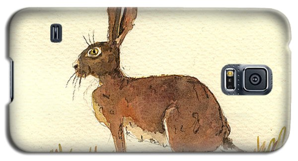 Rabbit Galaxy S5 Case - Hare by Juan  Bosco