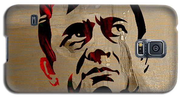 Johnny Cash Galaxy S5 Case by Marvin Blaine