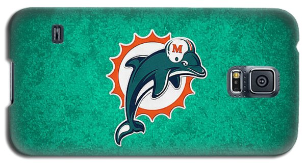 Miami Dolphins Galaxy S5 Case by Joe Hamilton