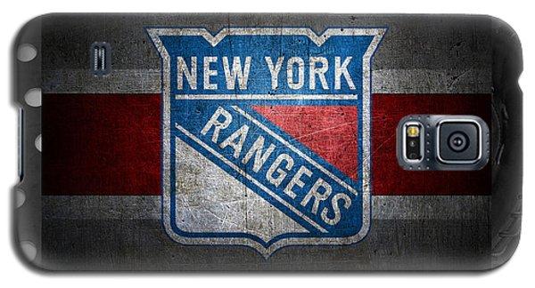 New York Rangers Galaxy S5 Case by Joe Hamilton