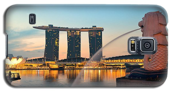 Singapore Skyline Galaxy S5 Case