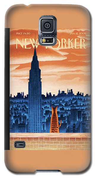 New Yorker January 12th, 2009 Galaxy S5 Case