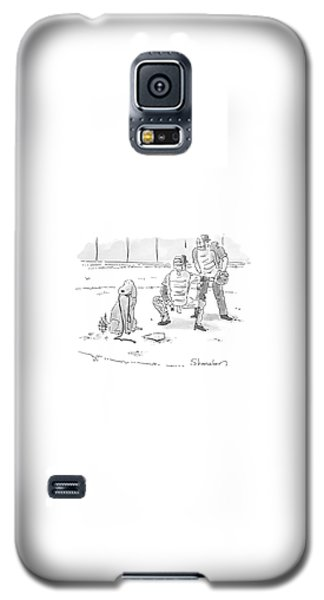 New Yorker October 10th, 2005 Galaxy S5 Case