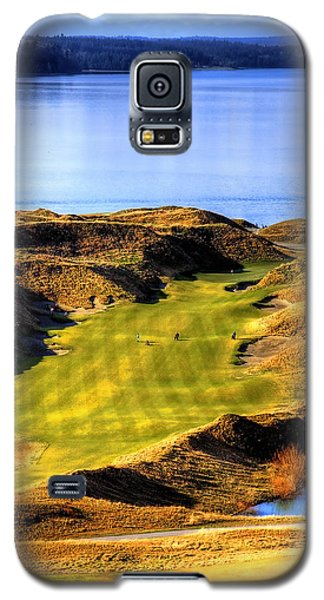 10th Hole At Chambers Bay Galaxy S5 Case