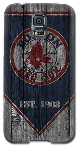 Bat Galaxy S5 Case - Boston Red Sox by Joe Hamilton